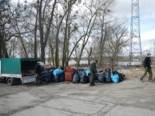 Wiosenne sprzątanie łowisk