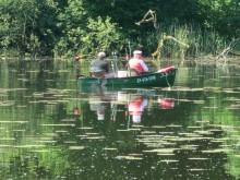 Spinningowe i spławikowe zawody na jeziorze Pyrzyckim