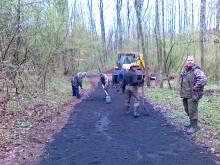 Naprawa drogi do zbiornika zaporowego Rejowice